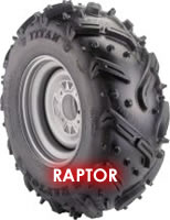 Raptor Titan ATV Tire