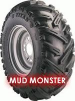 Mud Monster Titan ATV Tire