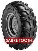 Sabre Tooth Titan ATV Tire